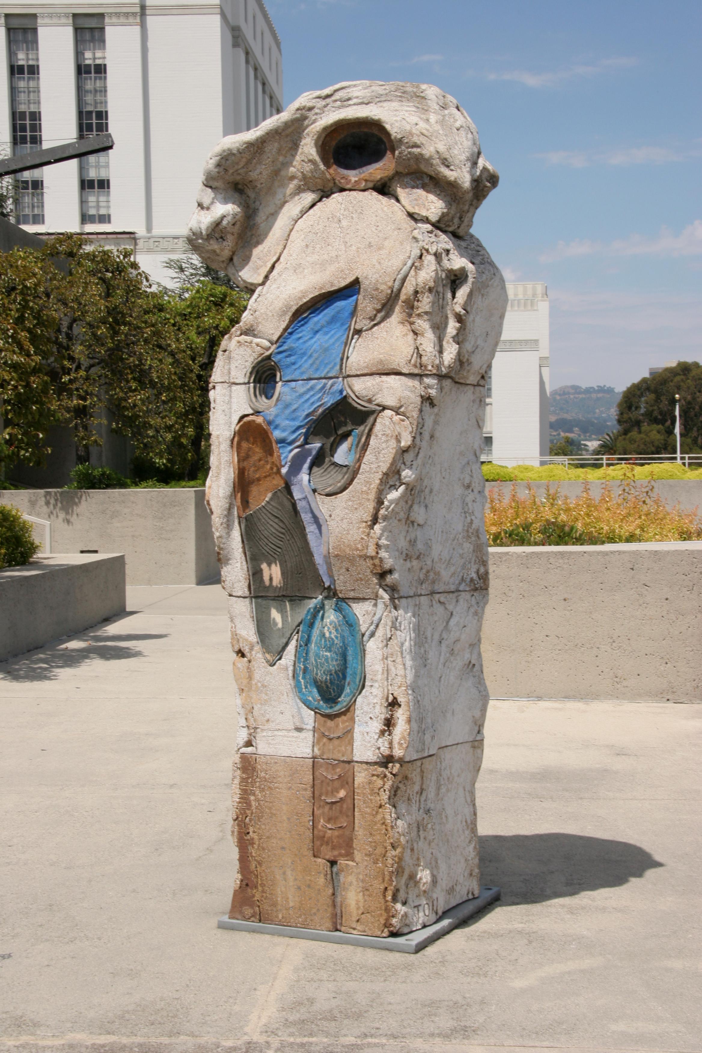 John Toki - O - 1993 - Ceramic - 8'