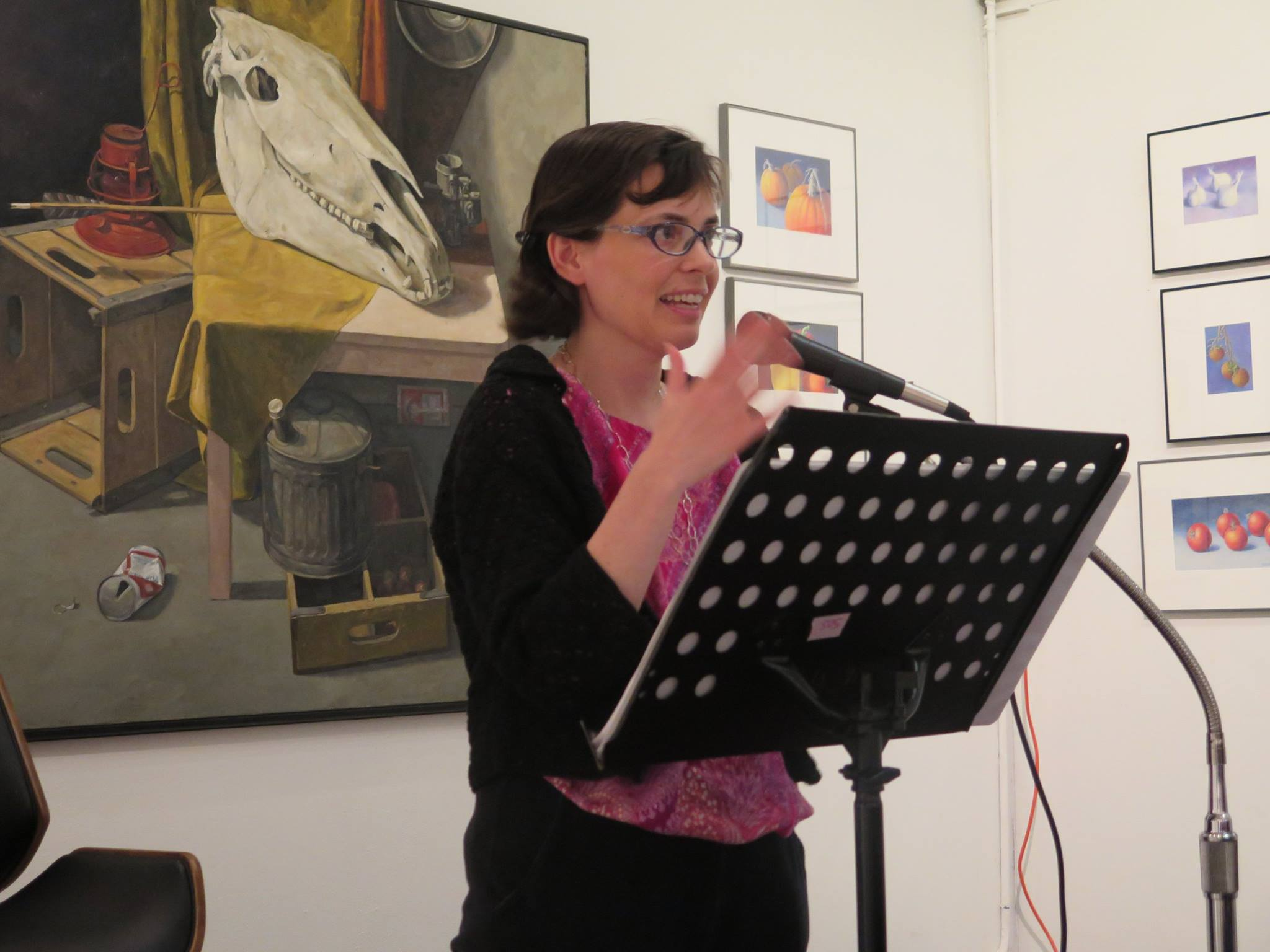 Beth Suter – Poetry Night