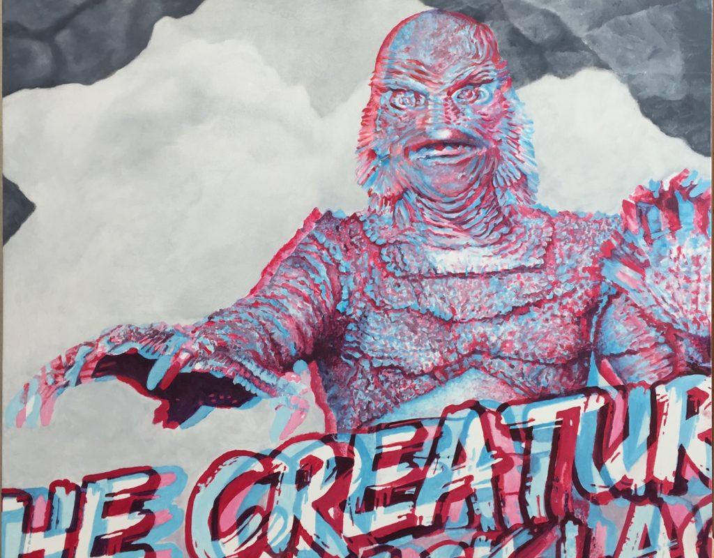 "William Maul - CREAT3D - 2018 - Oil on Panel - 16"" x 20"""