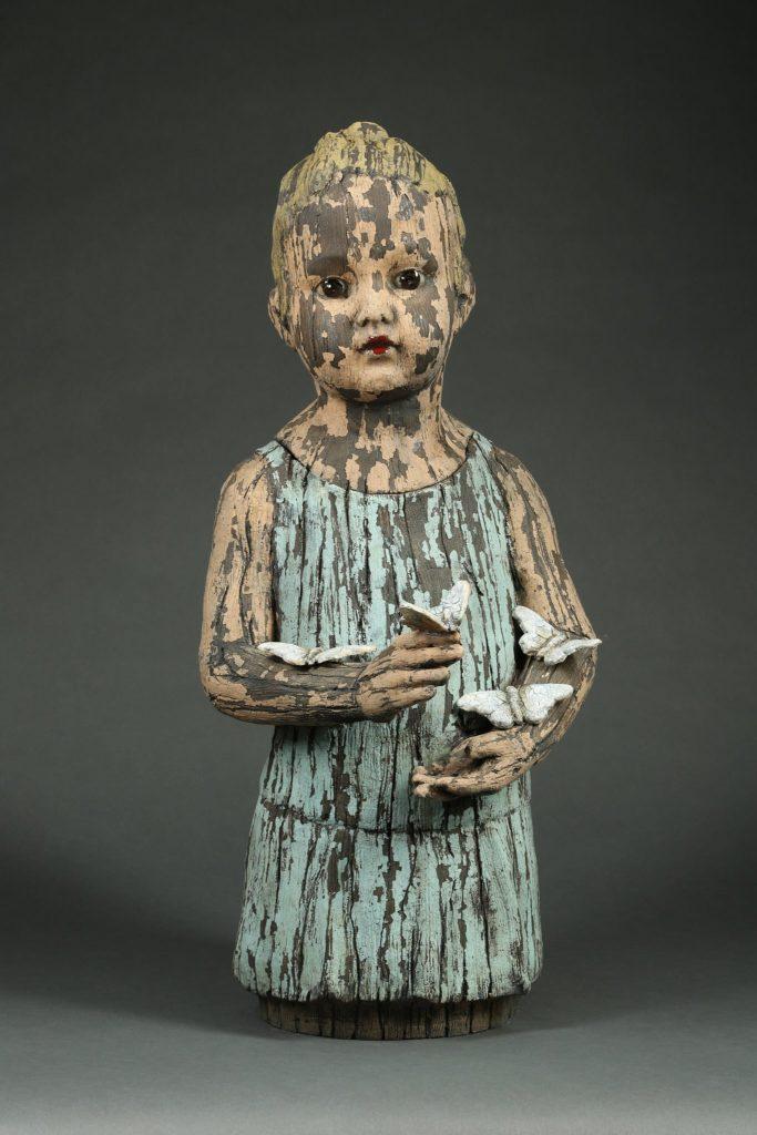 """Margaret Keelan - 2018 - Hold - Ceramic - 26"""" x 11"""" x 14"""""""