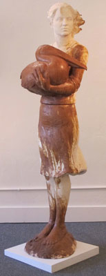 Lisa Reinertson - Neptune's Daughter - 2011 - Ceramic - 6'