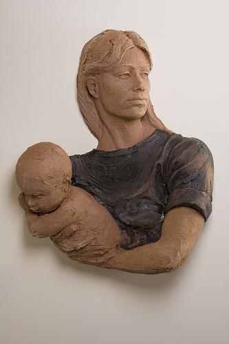 """Lisa Reinertson - Picasso - 2008 - Ceramic - 29"""" x 24"""" x 27"""""""