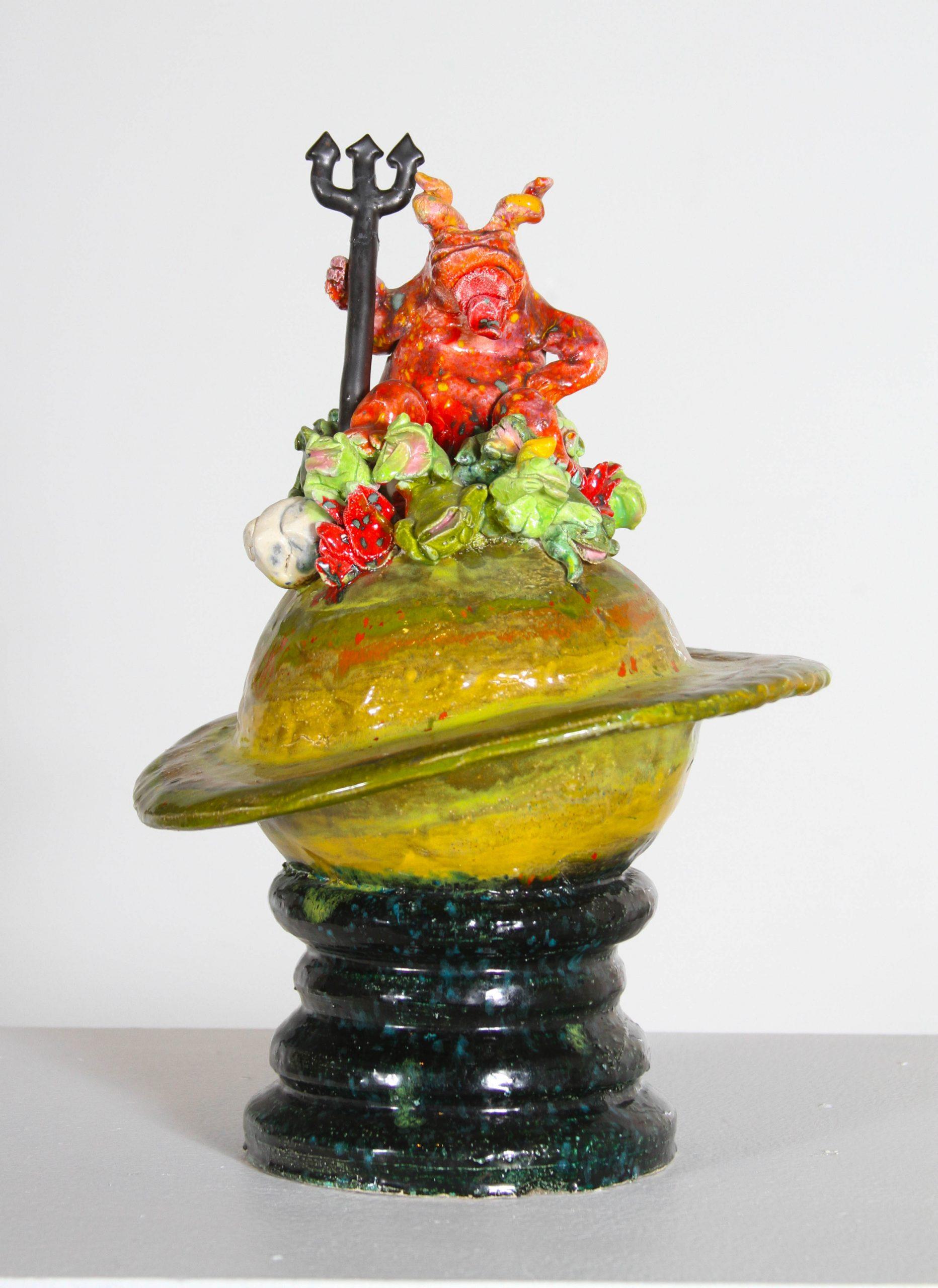 David Gilhooly - The Devil over Jupiter - 1970 - Ceramic