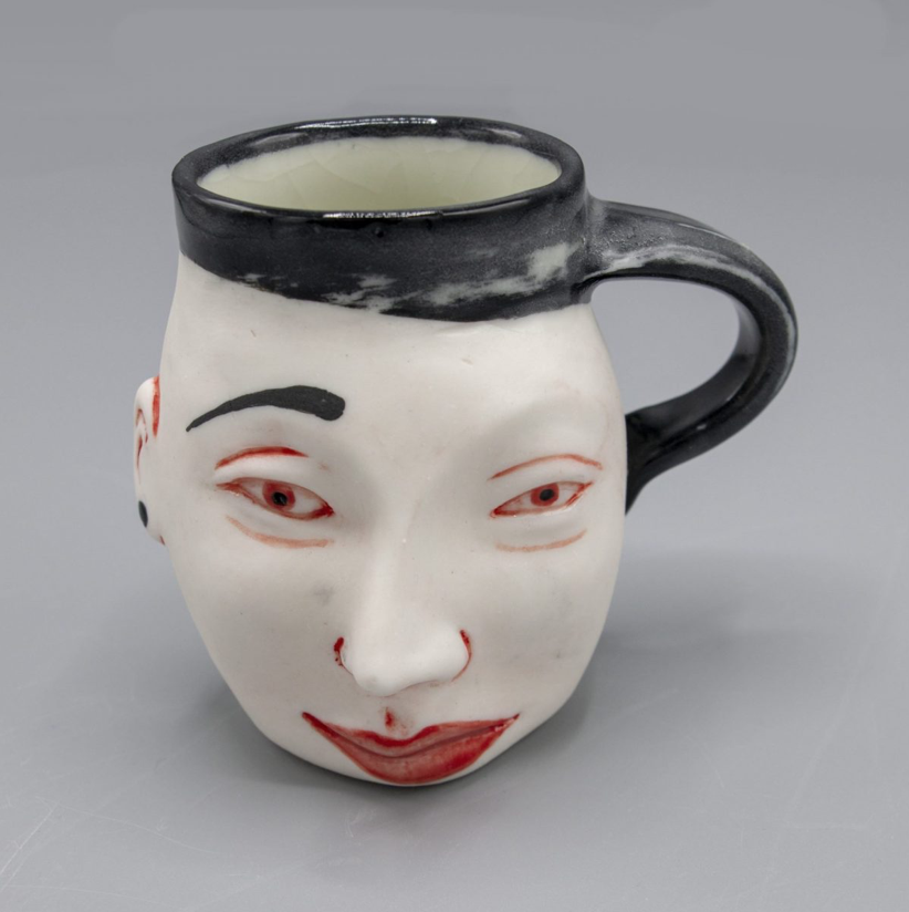 Patti Warashina - Girl Cup - 2019 - Ceramic