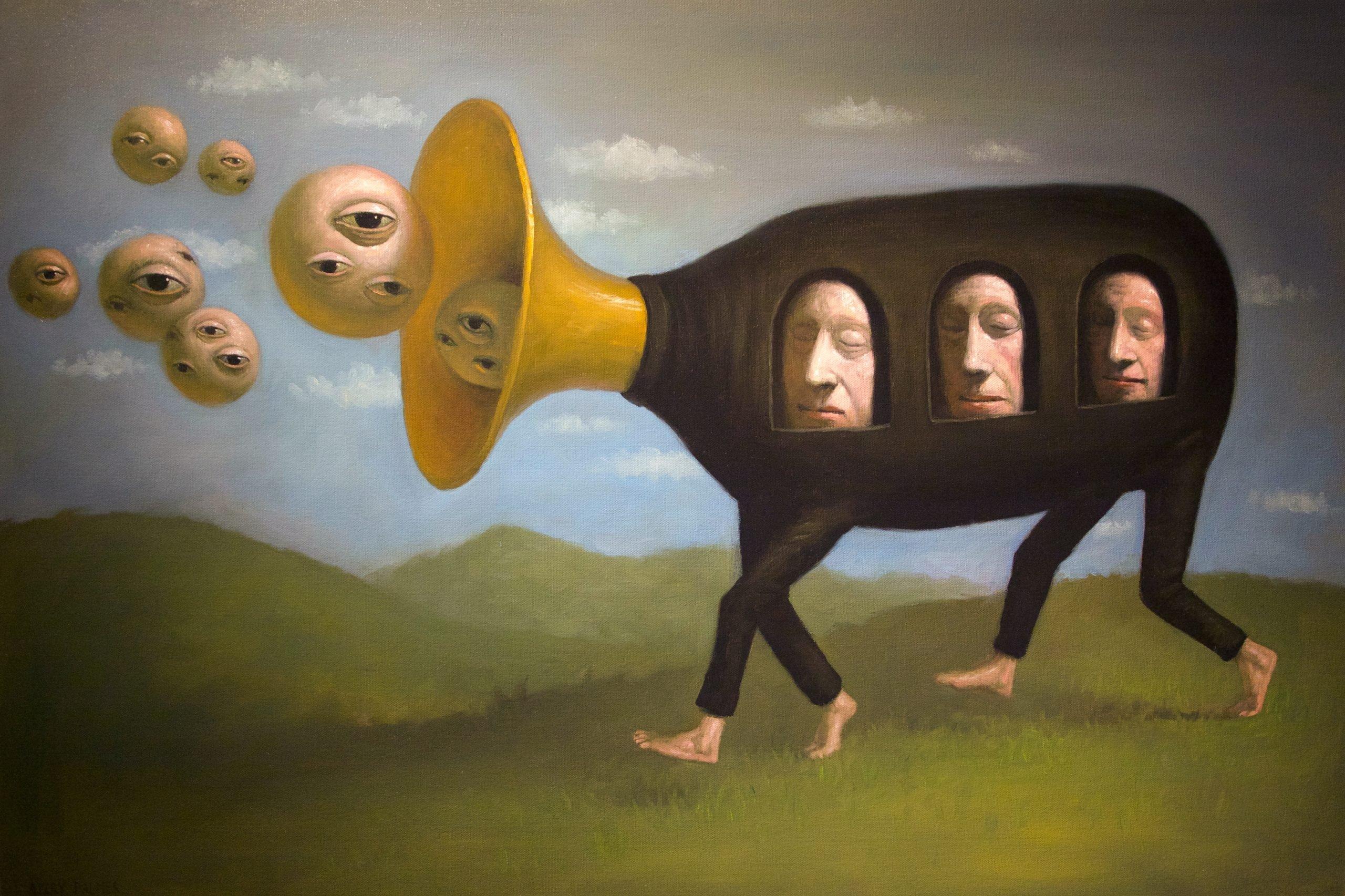 "Avery Palmer - Runaway Dream - 2018 - Oil on Canvas - 24"" x 36"""