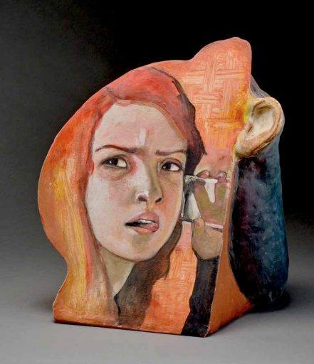 Arthur Gonzalez – Eavesdropping - 2019 - Ceramic