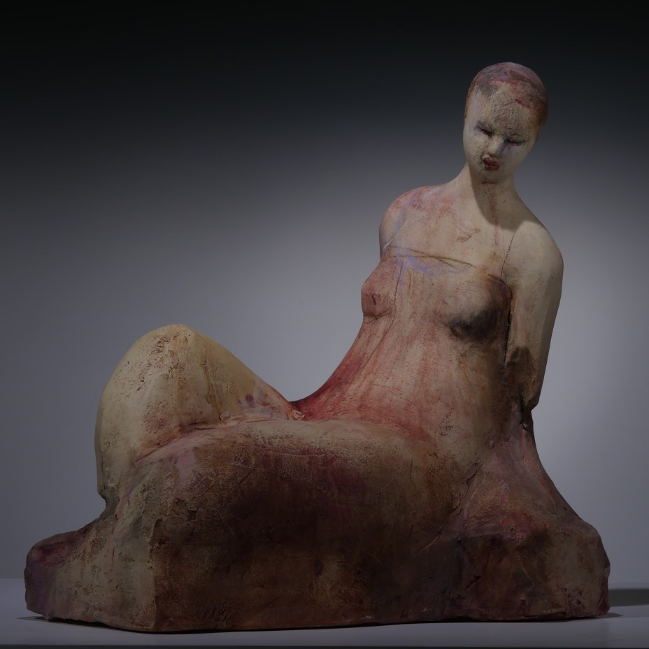 "Michelle Gregor - Marseille - 2017 - Ceramic - 16"" x 11"" x 16"""