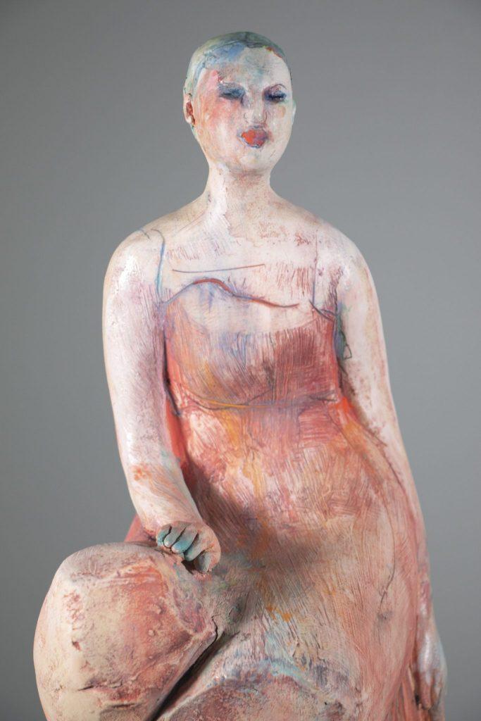 Michelle Gregor - The Listener - 2018 - Ceramic