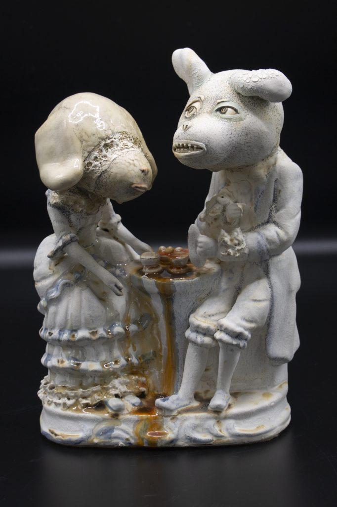Lisa Clague - Blindfolded Tea - Ceramic