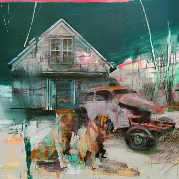 """Jose Luis Cena Ruiz - The Guardian - Oil on Linen - 39"""" x 39"""""""