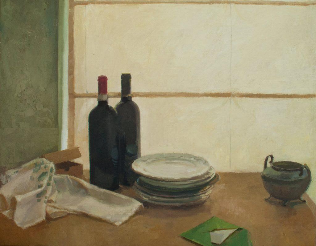 "Ilaria Rosselli Del Turco - Couple II - Oil on Linen - 24"" x 30"""