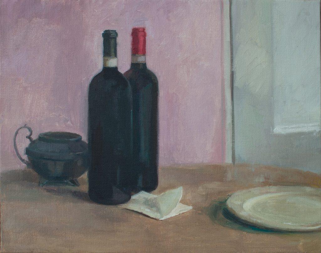Ilaria Rosselli Del Turco - Couple - Oil on Linen