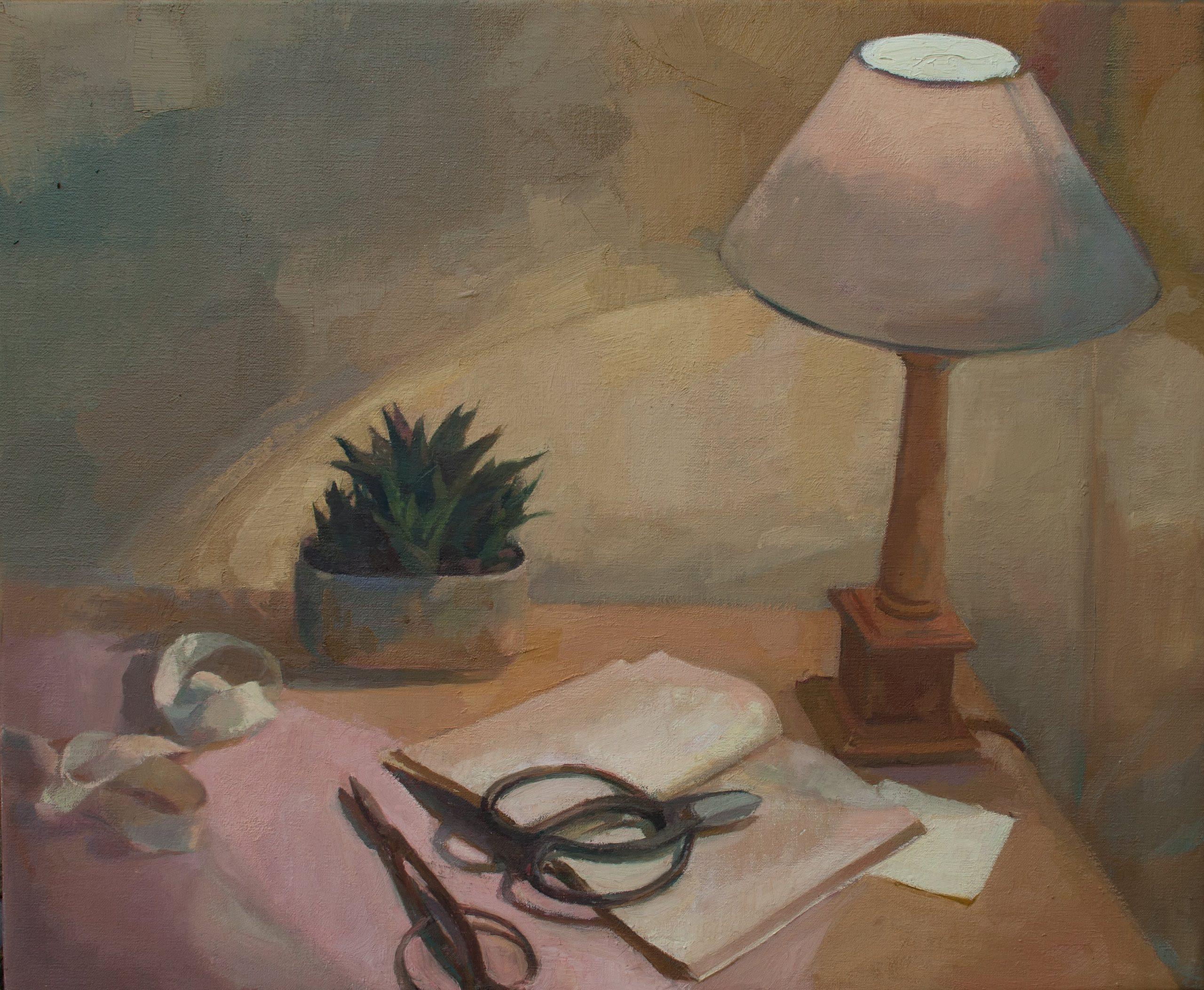 """Ilaria Rosselli Del Turco - Evening - Oil on Linen - 20"""" x 24"""""""