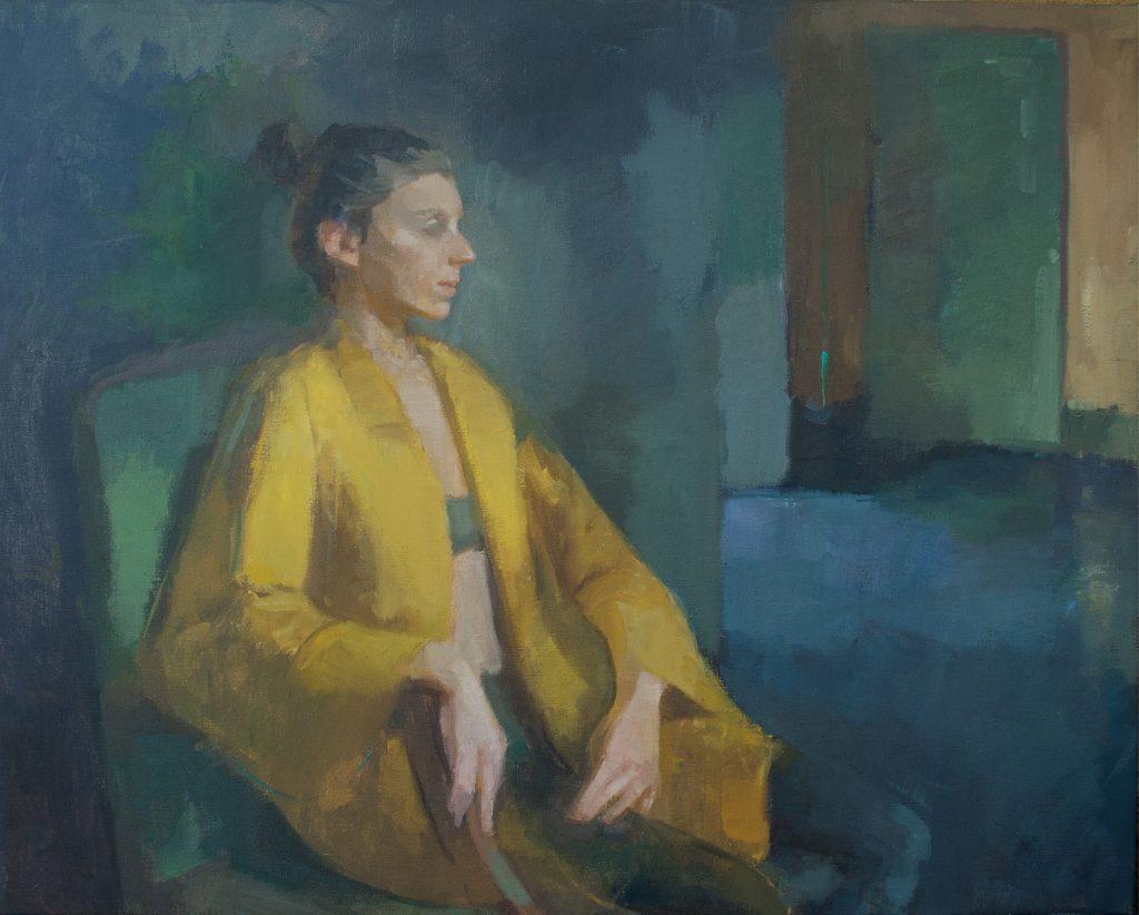 "Ilaria Rosselli Del Turco - Memories - Oil on Linen - 24"" x 30"""