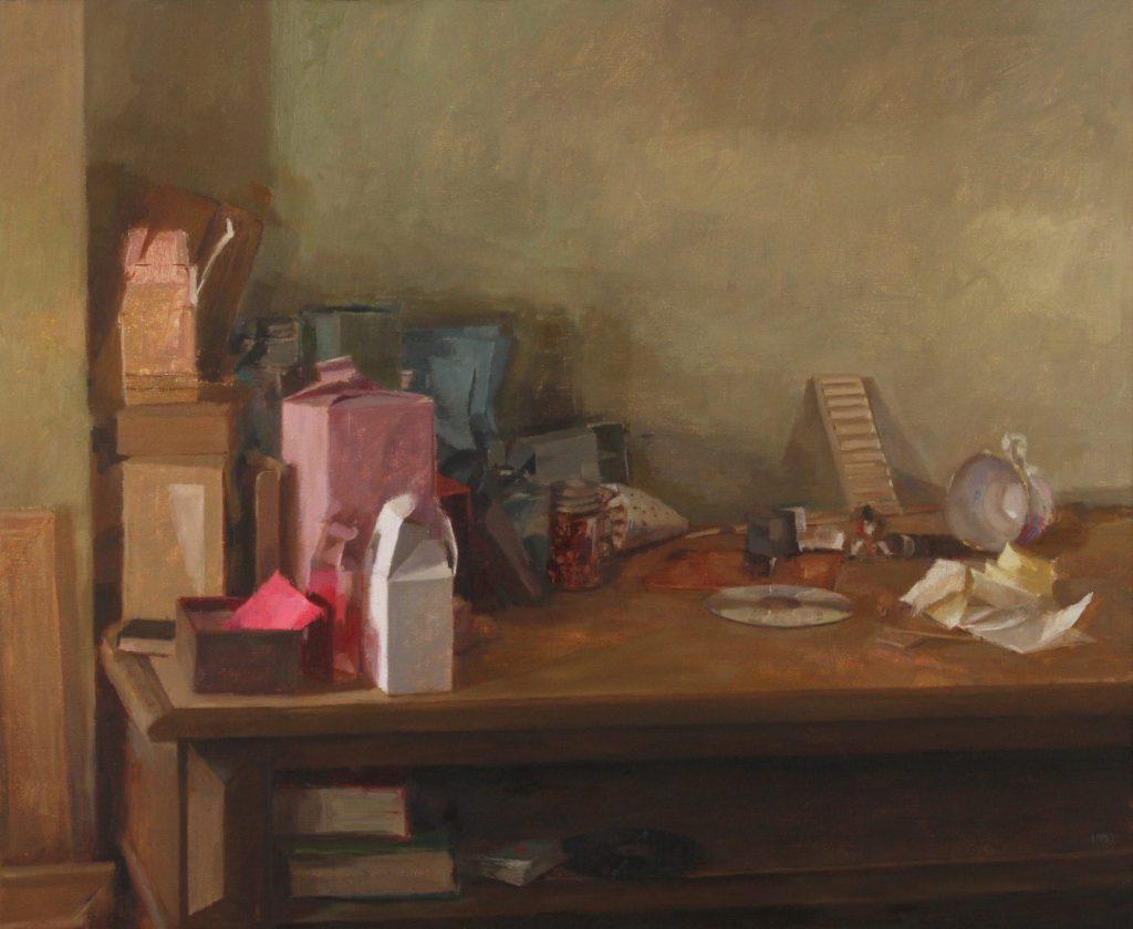 "Ilaria Rosselli Del Turco - Ragtime - Oil on Linen - 12"" x 16"""
