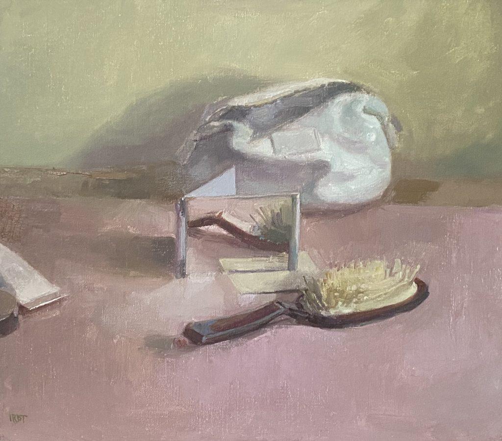"""Ilaria Rosselli Del Turco - Venus - Oil on Linen - 14"""" x 16"""""""