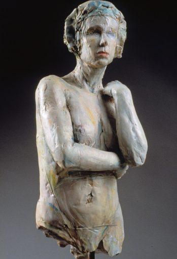 Angela ceramic sculpture