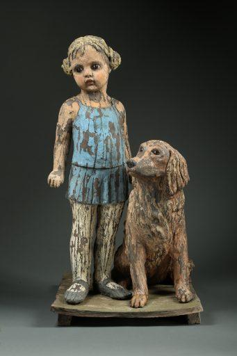 margarate keelan ceramic art lucy