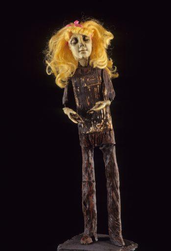 Tribal Doll ceramic art