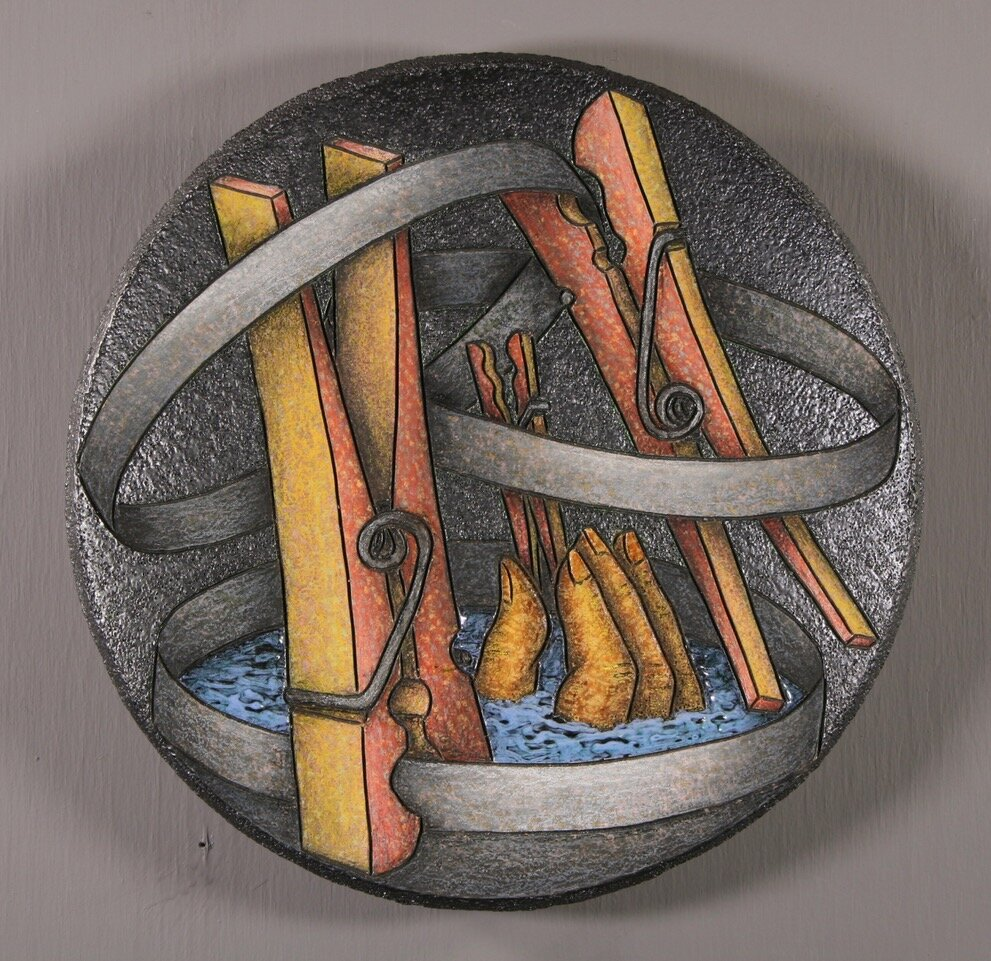 "Louis Marak - Clipped & Bound Bowl - Ceramic - 11.25"" x 11.25"" x 1.75"""