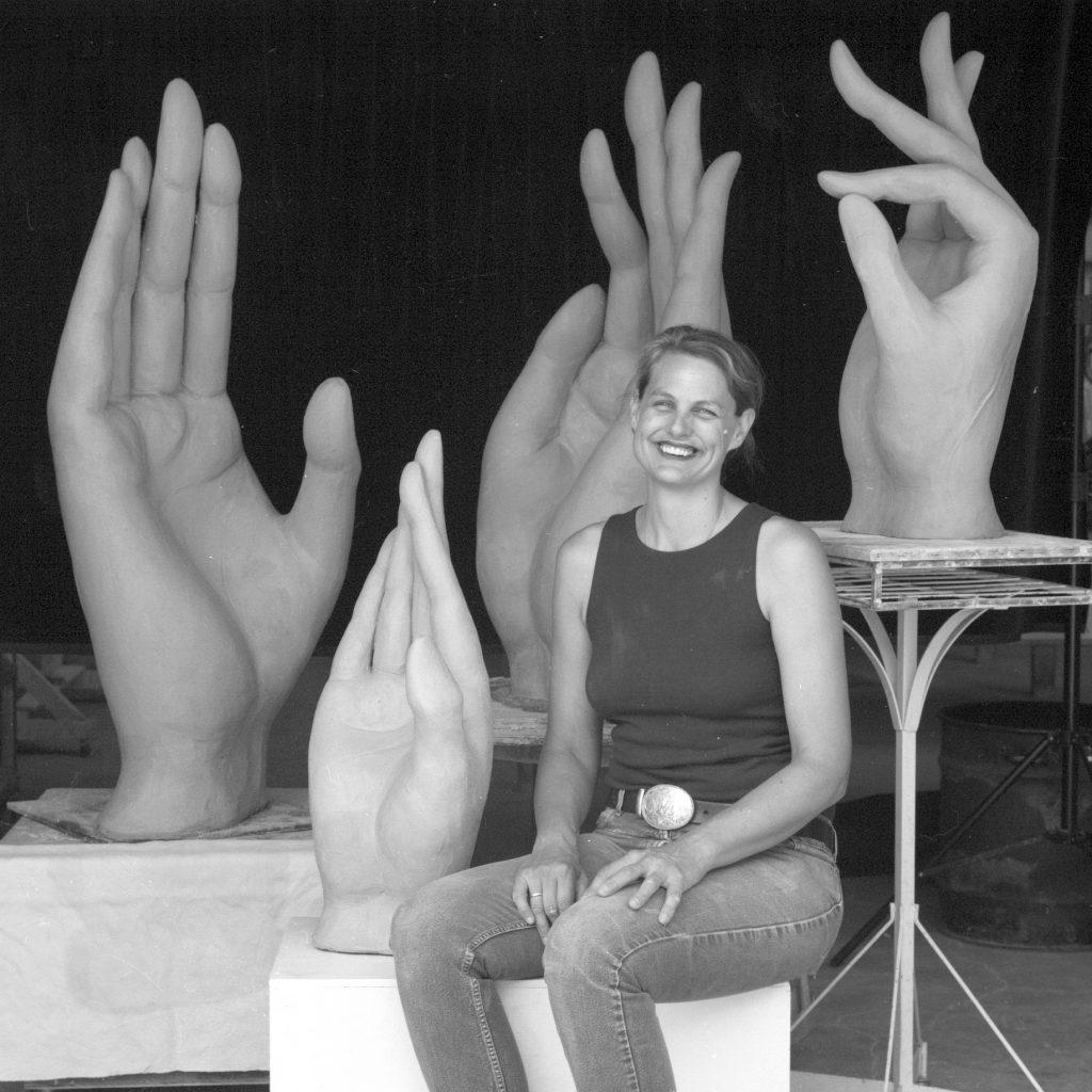 Michelle Gregor sculpture workshop