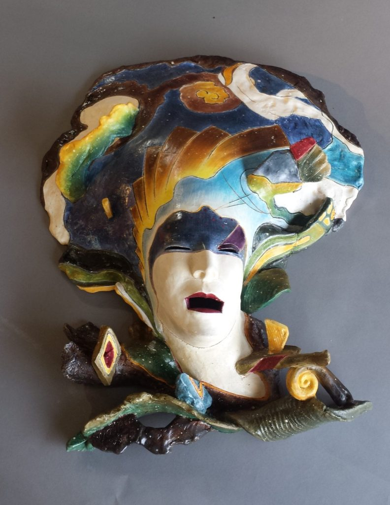 "Yoshio Taylor - Floating - 2020 - Ceramic - 28"" x 23"" x 6.5"""