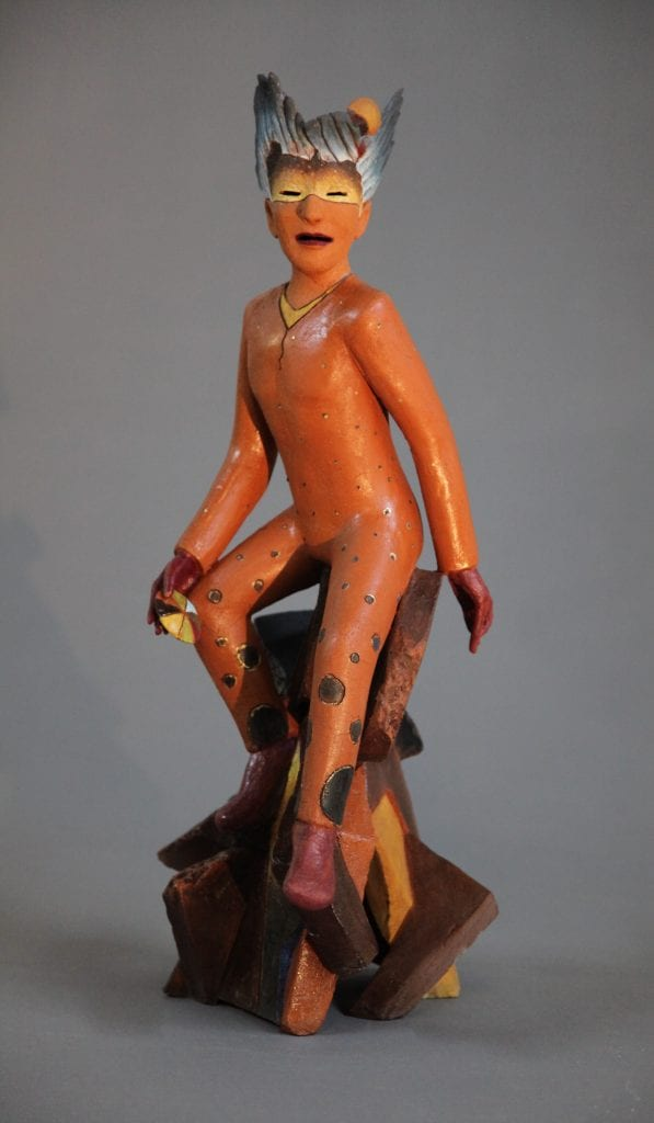 """Yoshio Taylor - Mystic - 2020 - Ceramic - 23.5"""" x 11"""" x 9"""""""