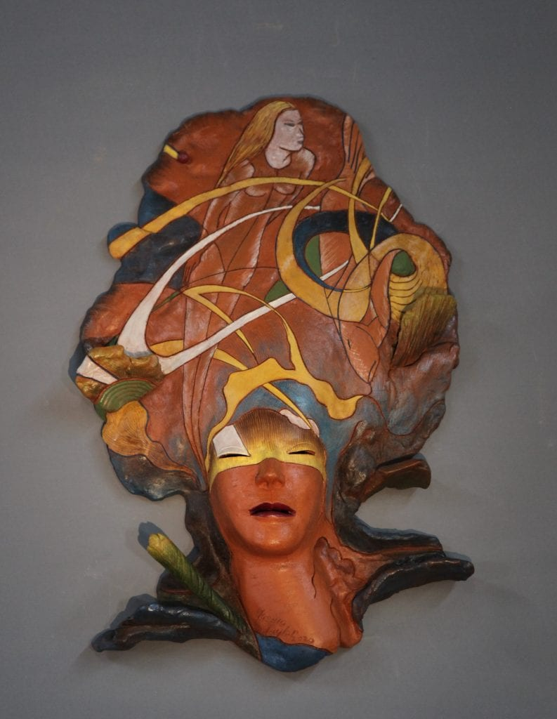 "Yoshio Taylor - Empowered - 2020 - Ceramic - 29"" x 18"" x 6"""