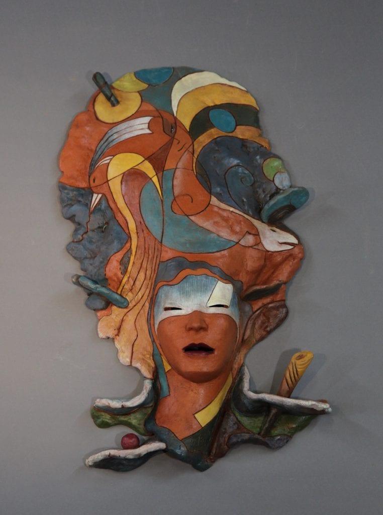 """Yoshio Taylor - Thinking of You - 2020 - Ceramic - 31"""" x 18"""" x 6"""""""