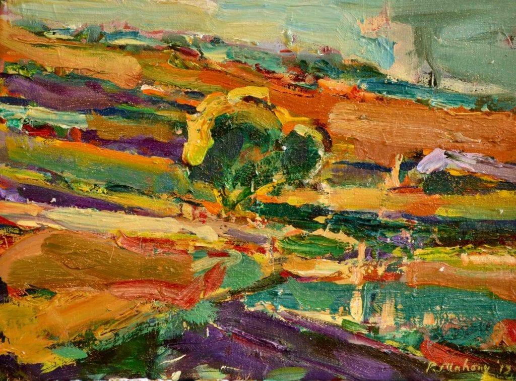 "Pat Mahony - Small Pond (Study) - 2013 - Oil on Canvas - 9"" x 12"""