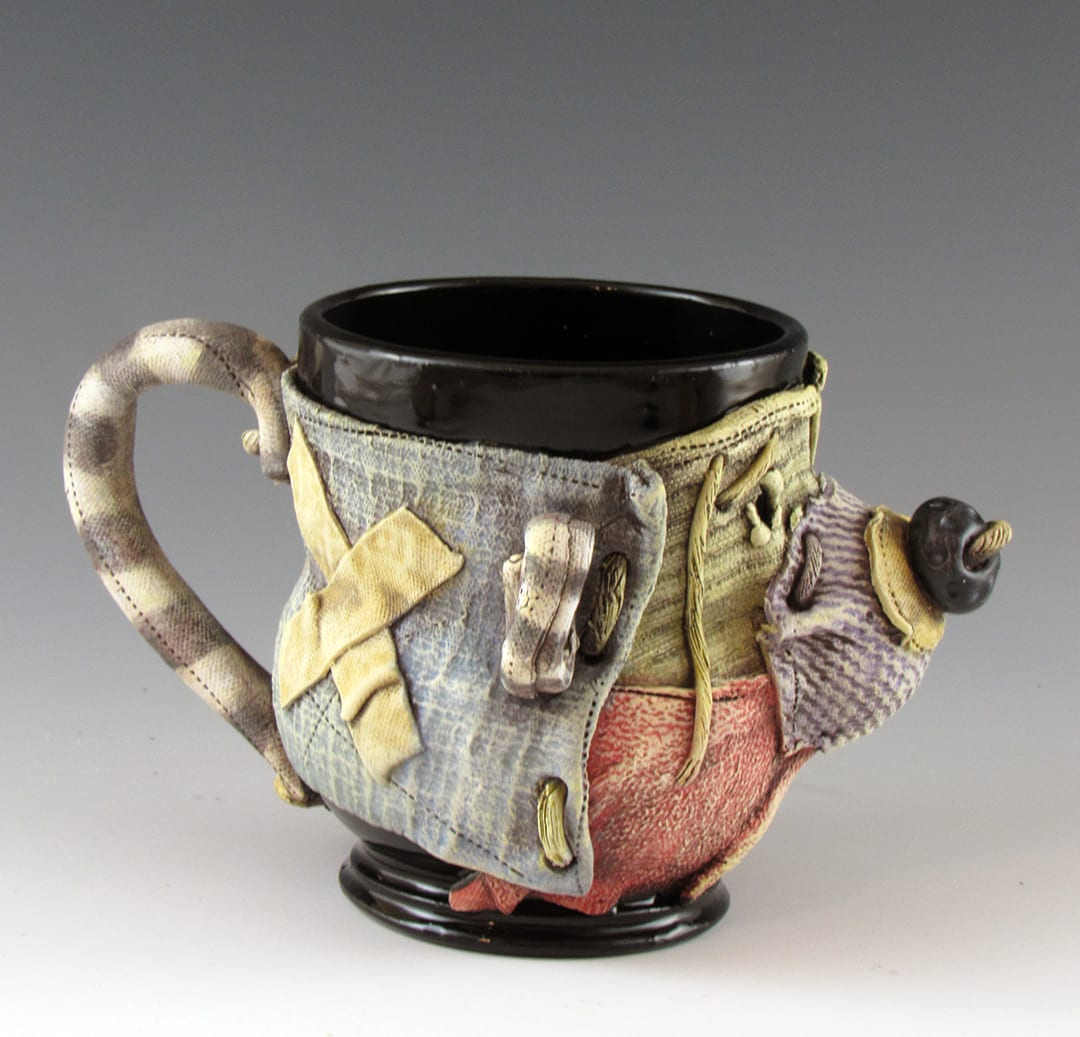 Keith Schneider - 2020 - Wrapped Cup #2 - Ceramic
