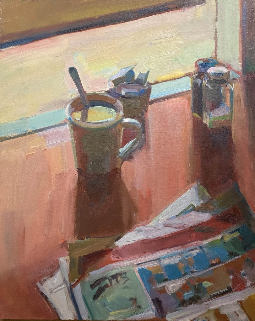Boyd Gavin - 2017 - Still Life with Sunday Papers