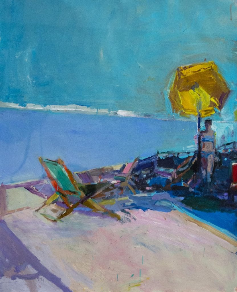 Kim Frohsin Painting